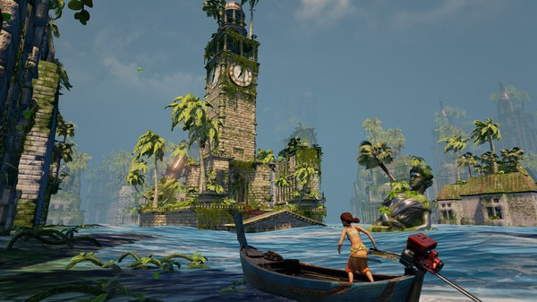 Khuyến mại 90%, game sinh tồn đình đám Submerged chỉ còn giá 19.000 đồng - Ảnh 1.