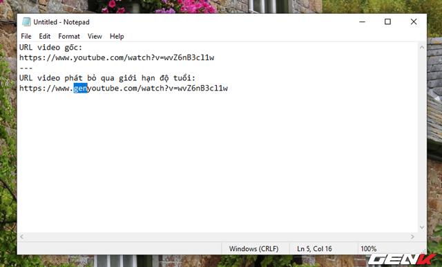 Là thần dân chính hiệu của Youtube, liệu bạn đã biết được 10 mẹo vặt với URL video này chưa? - Ảnh 8.