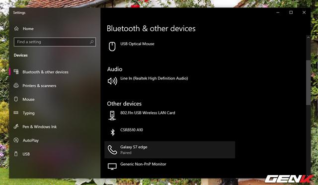 Toàn tập về cách sử dụng Bluetooth để kết nối điện thoại với máy tính chạy Windows 10 - Ảnh 12.