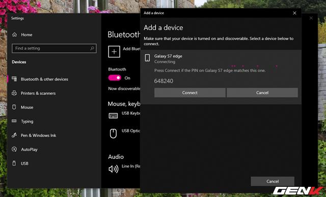 Toàn tập về cách sử dụng Bluetooth để kết nối điện thoại với máy tính chạy Windows 10 - Ảnh 9.