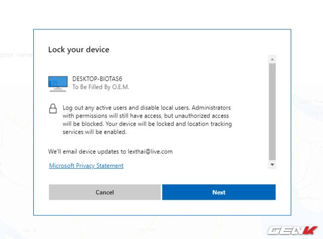 Khóa máy tính Windows 10 từ xa mà không cần cài đặt phần mềm, ứng dụng - Ảnh 10.