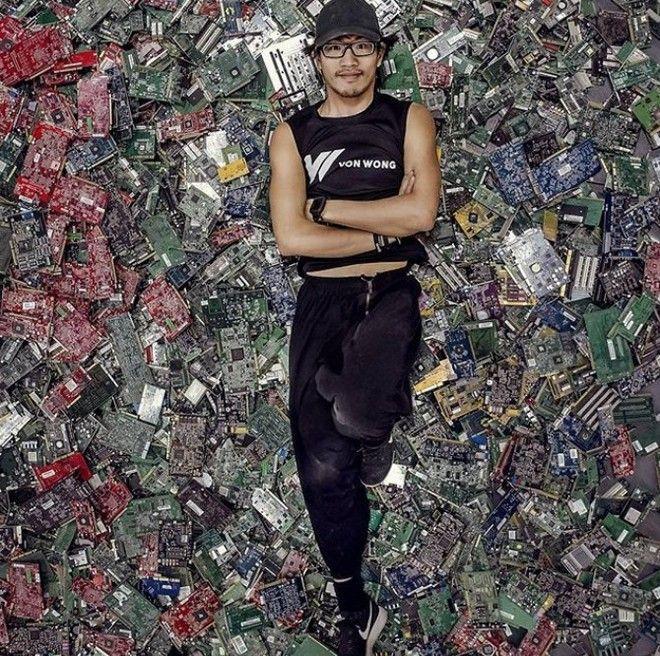 Ngắm tác phẩm ấn tượng tạo nên từ 168 ngàn ống hút nhựa tại TP. Hồ Chí Minh - Ảnh 9.
