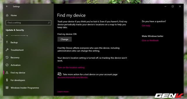 Khóa máy tính Windows 10 từ xa mà không cần cài đặt phần mềm, ứng dụng - Ảnh 5.