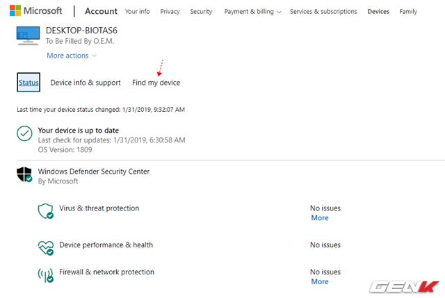 Khóa máy tính Windows 10 từ xa mà không cần cài đặt phần mềm, ứng dụng - Ảnh 8.