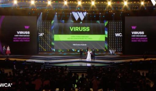 ViruSs chính là người trẻ có ảnh hưởng được yêu mến nhất tại WeChoice Awards 2018! - Ảnh 2.