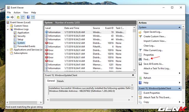 Cách kiểm tra và xác định phần cứng nào đang hoạt động không ổn định trong Windows 10 - Ảnh 9.