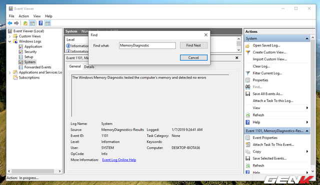 Cách kiểm tra và xác định phần cứng nào đang hoạt động không ổn định trong Windows 10 - Ảnh 10.