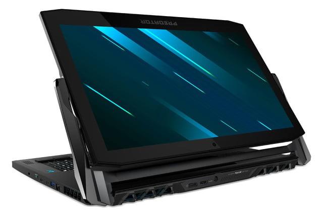 [CES 2019] Acer ra mắt laptop gaming 2-in-1 Predator Triton 900 với màn hình 17 inch 4K lật như gương, trang bị RTX 2080, giá bán từ 4.000 USD - Ảnh 3.