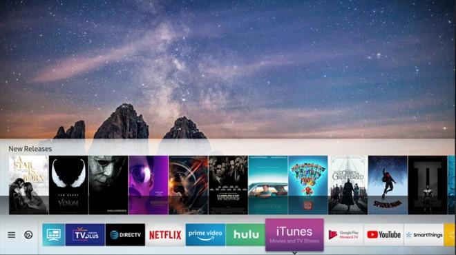 Apple chuyển hướng sang mảng dịch vụ, đưa ứng dụng iTunes lên Smart TV của Samsung - Ảnh 1.