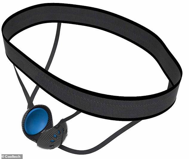 """CoolMen: Dụng cụ """"ôm ấp"""" tinh hoàn cho đàn ông, vừa làm mát, đo nhịp tim, đếm bước chạy mà còn hỗ trợ phòng chống ung thư - Ảnh 1."""