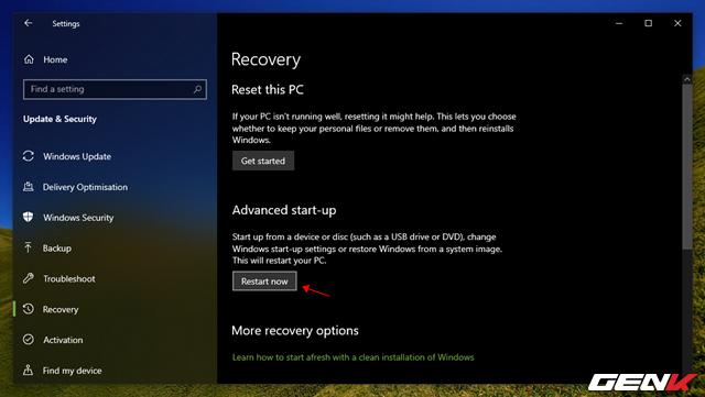 """Cần gì mất thời gian cài mới, Windows 10 cung cấp sẵn cho bạn tận 4 lựa chọn """"làm tươi"""" lại hệ điều hành - Ảnh 11."""