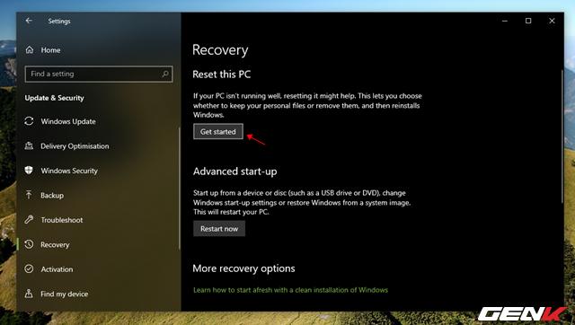 """Cần gì mất thời gian cài mới, Windows 10 cung cấp sẵn cho bạn tận 4 lựa chọn """"làm tươi"""" lại hệ điều hành - Ảnh 3."""