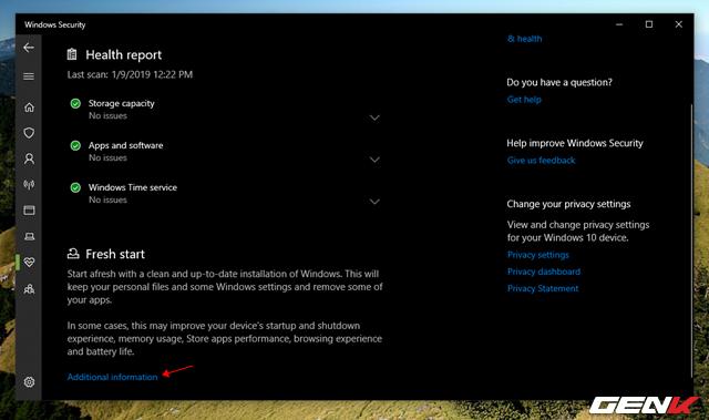 """Cần gì mất thời gian cài mới, Windows 10 cung cấp sẵn cho bạn tận 4 lựa chọn """"làm tươi"""" lại hệ điều hành - Ảnh 6."""