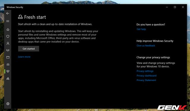 """Cần gì mất thời gian cài mới, Windows 10 cung cấp sẵn cho bạn tận 4 lựa chọn """"làm tươi"""" lại hệ điều hành - Ảnh 7."""