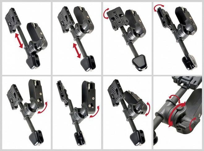 Lấy ý tưởng từ chân máy ảnh, nhiếp ảnh gia Nhật Bản chế tạo móc treo bao súng giúp bắn nhanh như Lucky Luke - Ảnh 3.