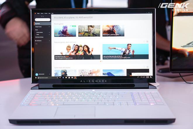 [CES 2019] Dell trình làng laptop Alienware Area m51 với cấu hình khủng, thiết kế cyberpunk, giá từ 2.550 USD - Ảnh 6.