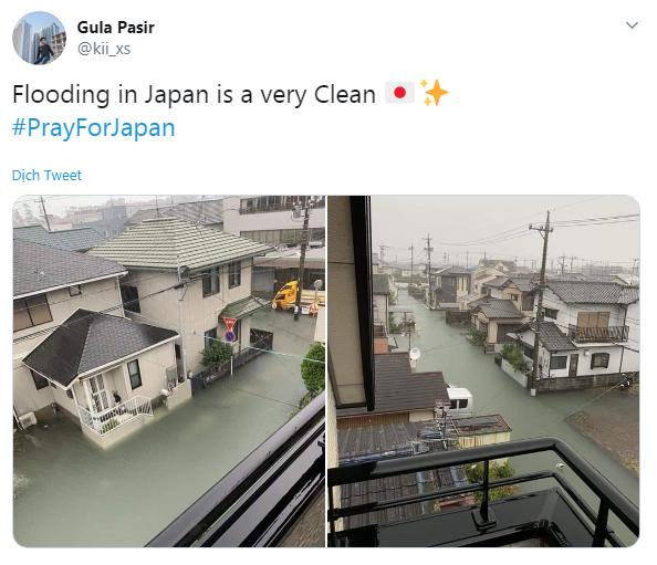 Cộng đồng mạng sửng sốt trước cảnh nước lũ ngập Nhật Bản vẫn sạch trong, không một cọng rác - Ảnh 5.