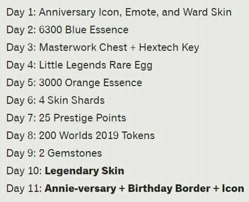 LMHT: Kỉ niệm 10 năm, Riot tặng MIỄN PHÍ skin Huyền Thoại, đính kèm trang phục Annie mới toanh cho game thủ - Ảnh 2.