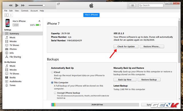 iOS 13: Khắc phục lỗi không thể cài đặt bản cập nhật sau khi tải về - Ảnh 5.