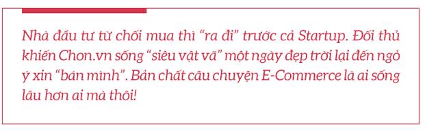 Chuyện chưa kể về Chon.vn và chiêm nghiệm của cựu 'nữ tướng' Adayroi Lê Hoàng Uyên Vy: Bản chất E-Commerce là ai sống lâu hơn ai! - Ảnh 14.