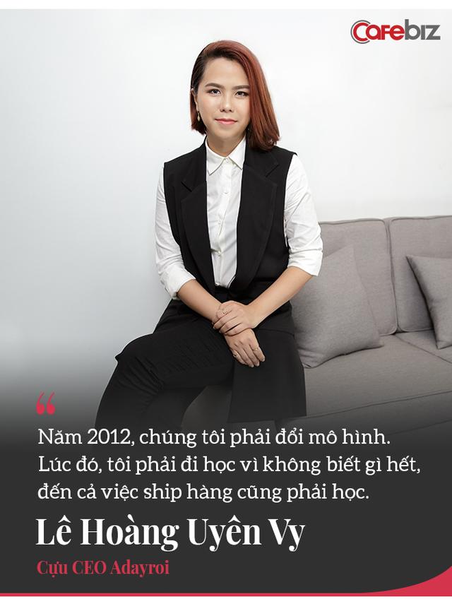 Chuyện chưa kể về Chon.vn và chiêm nghiệm của cựu 'nữ tướng' Adayroi Lê Hoàng Uyên Vy: Bản chất E-Commerce là ai sống lâu hơn ai! - Ảnh 9.
