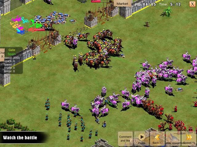 Trải nghiệm War of Empire Conquest - Phiên bản đế chế trên di động - Ảnh 4.