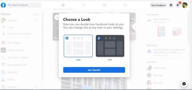 Xem Facebook web lột xác siêu lạ: Chữ to sạch đẹp như vở cấp 1, hết trắng tinh khôi lại đến Dark Mode - Ảnh 6.