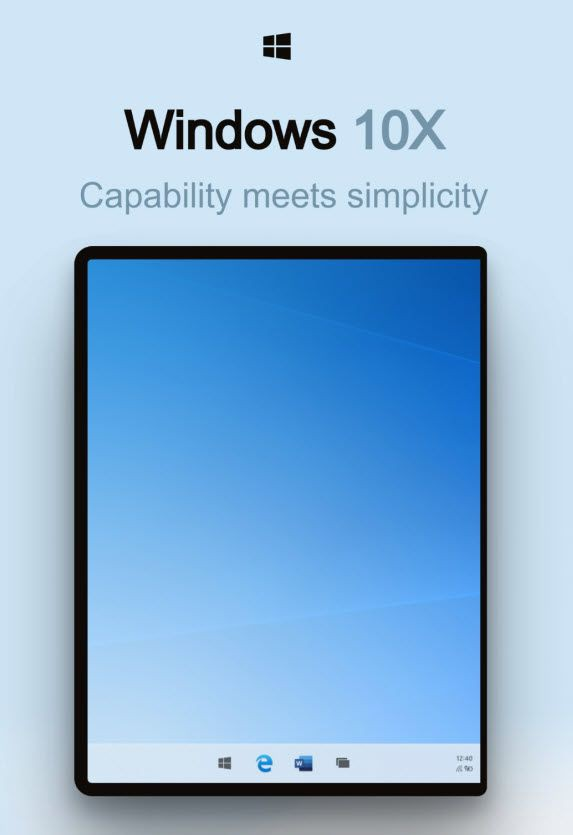 Microsoft tiết lộ những hình ảnh đầu tiên của Windows 10X, sẽ được trang bị cho cả laptop - Ảnh 2.