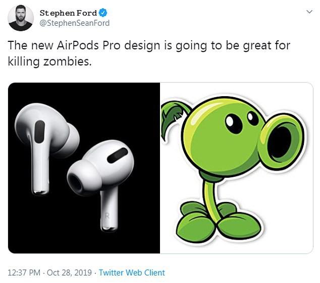 Vừa mới ra mắt, tai nghe Airpods Pro đã trở thành nguồn cảm hứng chế ảnh buồn cười đau cả bụng - Ảnh 5.