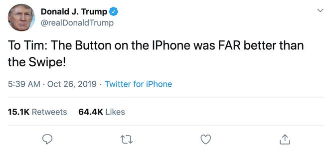 Chiếc iPhone SE 2 sắp ra mắt chắc chắn là mẫu smartphone dành cho Tổng thống Trump - Ảnh 1.