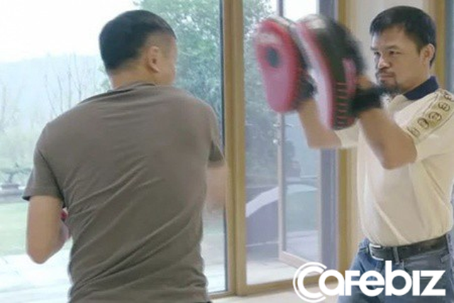 Hậu nghỉ hưu, tỷ phú 'già gân' Jack Ma tập tành đấm bốc, lập team thách thức tay đấm huyền thoại người Mỹ, Floyd Mayweather - Ảnh 2.