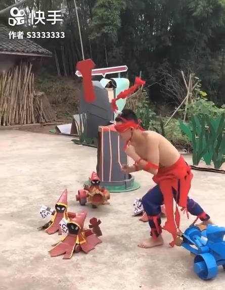 LMHT: Chết cười với phim live-action của game thủ Trung Quốc, tái hiện LMHT theo phong cách... tiết kiệm - Ảnh 12.
