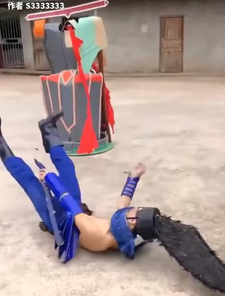 LMHT: Chết cười với phim live-action của game thủ Trung Quốc, tái hiện LMHT theo phong cách... tiết kiệm - Ảnh 15.