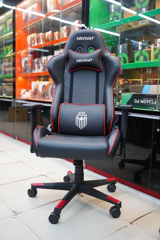 Các mẫu ghế gaming giá rẻ mà siêu êm, bảo đảm chơi game cả ngày không bị ê mông - Ảnh 7.