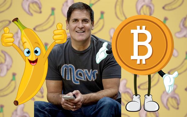 Từng một thời đầu tư vào tiền ảo, giờ đây tỷ phú Mark Cuban lại kiên quyết: Tôi thà ăn chuối còn hơn vì ít nhất chúng còn có ích hơn bitcoin - Ảnh 1.