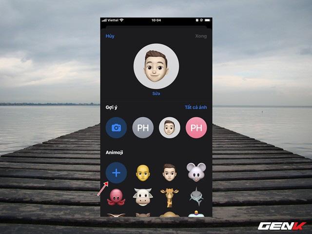 iOS 13: Cách tạo ảnh cá nhân 3D trong iMessage để làm ảnh đại diện khi liên lạc - Ảnh 7.