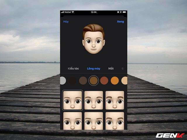 iOS 13: Cách tạo ảnh cá nhân 3D trong iMessage để làm ảnh đại diện khi liên lạc - Ảnh 9.