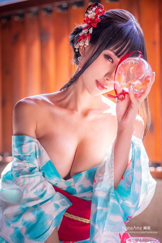 Thiếu nữ xinh đẹp khoe đôi gò bồng đảo quyến rũ tại nhà tắm suối nước nóng - Ảnh 2.