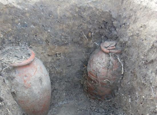 Phát hiện hầm mộ có nhiều tầng thời La Mã, Hy Lạp cổ đại tại Ai Cập - Ảnh 2.