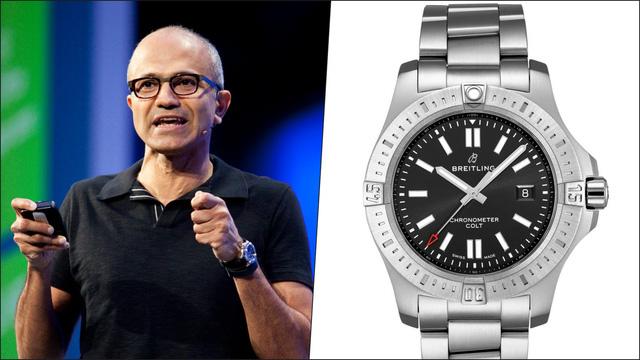 Các CEO hàng đầu thế giới đeo đồng hồ gì? - Ảnh 4.