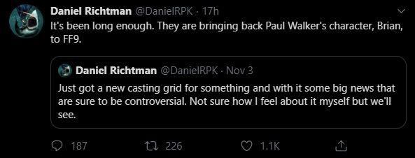 Tin đồn: Nhân vật của tài tử quá cố Paul Walker sẽ trở lại trong Fast & Furious 9, fan chẳng những không vui mừng mà còn cáu ra mặt - Ảnh 2.