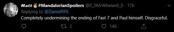 Tin đồn: Nhân vật của tài tử quá cố Paul Walker sẽ trở lại trong Fast & Furious 9, fan chẳng những không vui mừng mà còn cáu ra mặt - Ảnh 4.