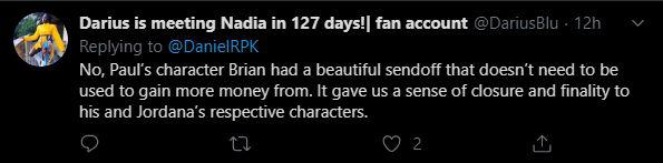 Tin đồn: Nhân vật của tài tử quá cố Paul Walker sẽ trở lại trong Fast & Furious 9, fan chẳng những không vui mừng mà còn cáu ra mặt - Ảnh 10.