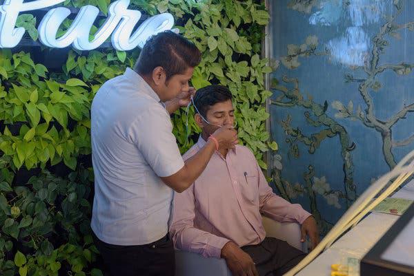 Không khí quá ô nhiễm: Một quán bar ở Ấn Độ bán 15 phút thở oxy với giá 140.000 Đồng - Ảnh 4.