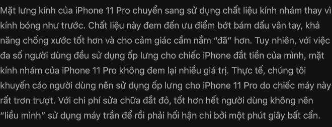 Đánh giá iPhone 11 Pro: Không phải người đi đầu, nhưng vẫn là người dẫn đầu - Ảnh 7.