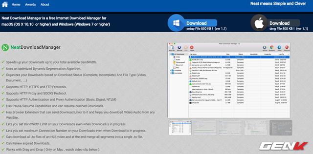 Tăng 300% tốc độ tải dữ liệu trên Windows 10 với Neat Download Manager - Ảnh 2.