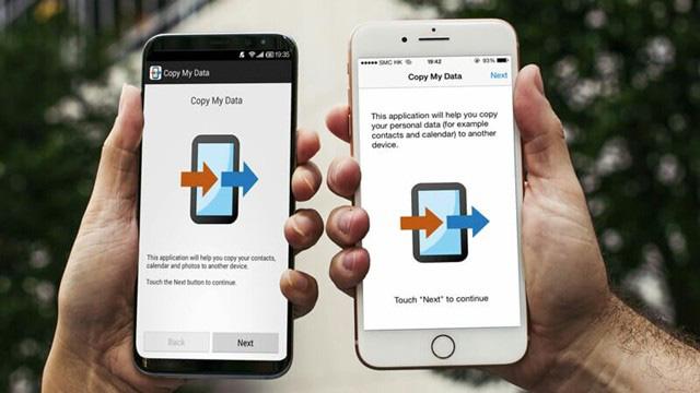 Chuyển nhanh dữ liệu qua lại giữa iOS và Android với Copy My Data - Ảnh 1.