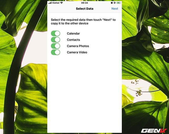 Chuyển nhanh dữ liệu qua lại giữa iOS và Android với Copy My Data - Ảnh 11.