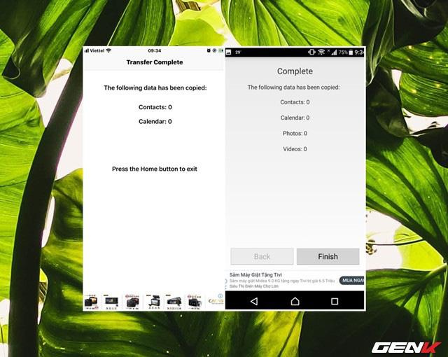 Chuyển nhanh dữ liệu qua lại giữa iOS và Android với Copy My Data - Ảnh 12.