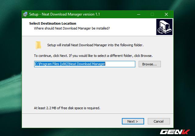 Tăng 300% tốc độ tải dữ liệu trên Windows 10 với Neat Download Manager - Ảnh 3.
